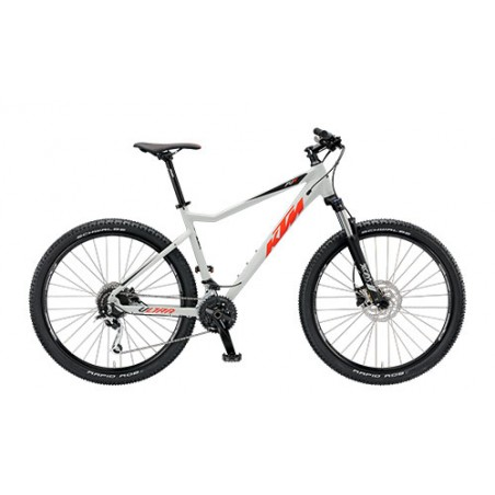 "BICI KTM ULTRA FUN 29.27 19""/48 LIGHTGREY/RED/BLACK"